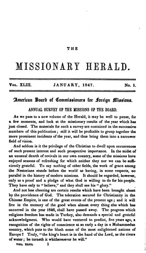 The Missionary Herald
