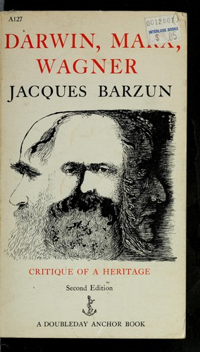 Download Darwin, Marx, Wagner: critique of a heritage.