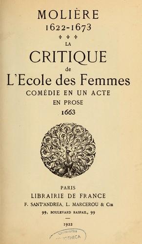 Molière, 1622-1673