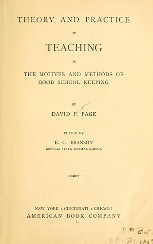 Download Theory and practice of teaching