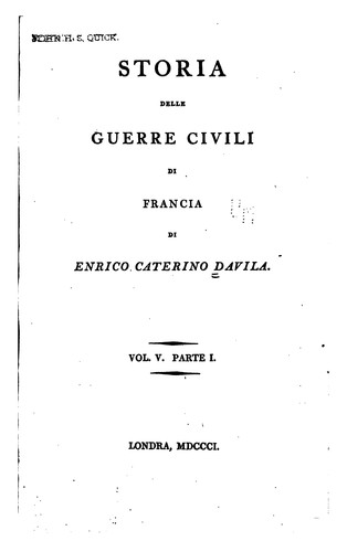 Download Storia della guerre civili di Francia