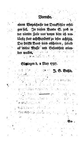 Lehrbuch der Geschichte der Philosophie und einer kritischen Literatur derselben..