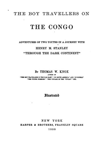 Download The boy travellers on the Congo