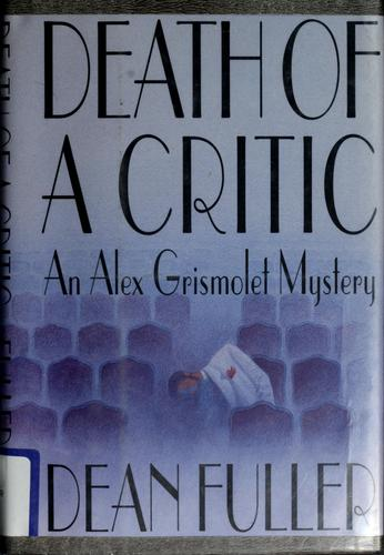 Death of a critic