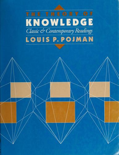 Download The Theory of Knowledge