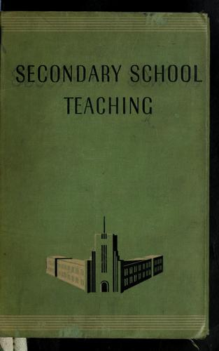 Download Secondary school teaching