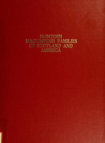 McIntosh–Mackintosh families of Scotland and America