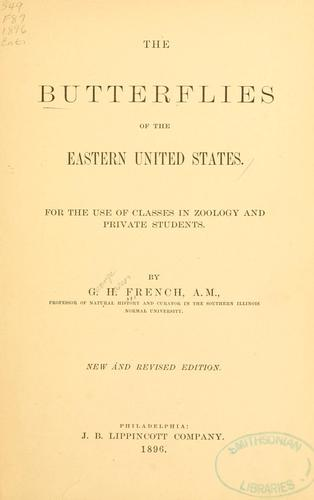 Download The butterflies of the eastern United States.