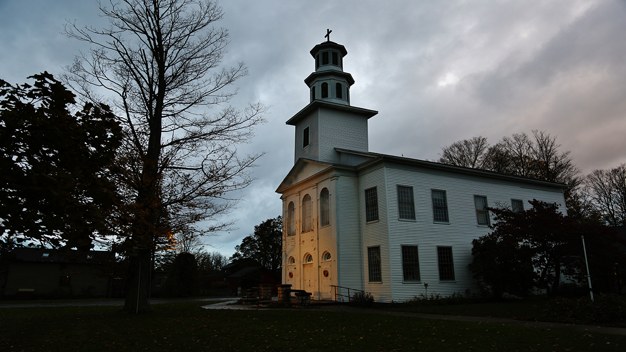 Danby Church in Tompkins County (photo)