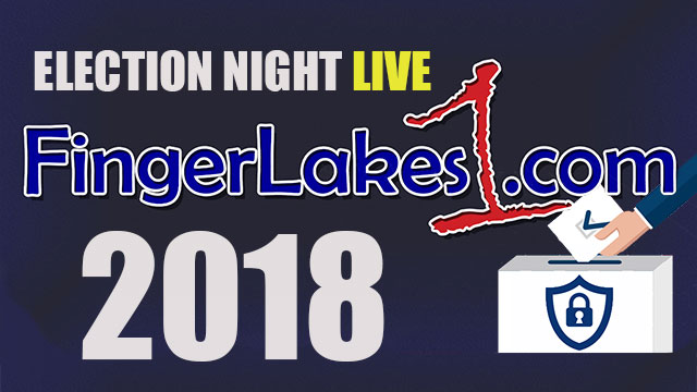 ELECTION NIGHT LIVE: Live results and analysis of today's vote throughout the Finger Lakes & NYS