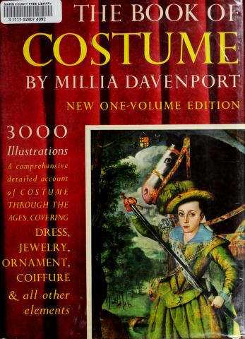 The book of costume by Millia Davenport