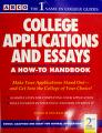 Cover of: College Applications and Essays