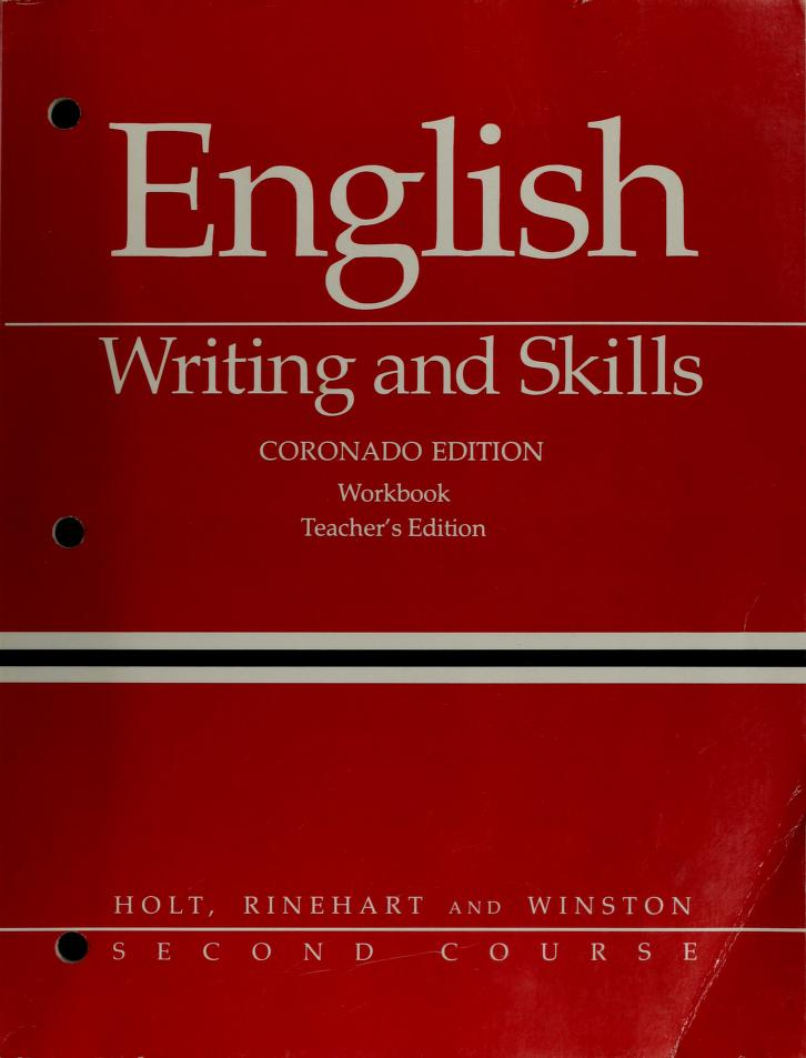 English Writing Skills by Winterowd, W. Ross Winterowd