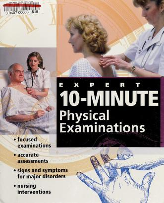 Cover of: Expert 10-minute physical examinations |