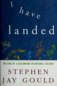 Cover of: I have landed | Stephen Jay Gould