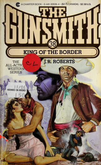 Cover of: King of the border | Roberts, J. R.
