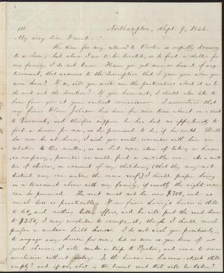[Letter to] My very dear Friend by William Lloyd Garrison
