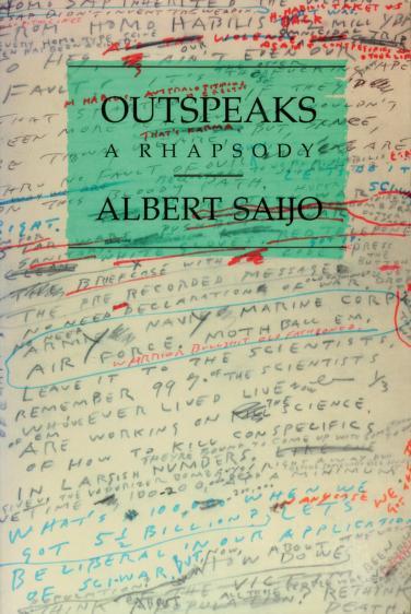 Outspeaks by Albert Saijo