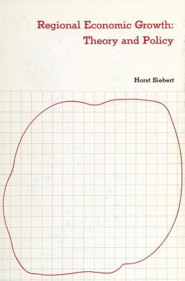 Cover of: Regional economic growth   Siebert, Horst