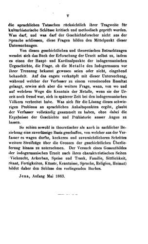 Sprachvergleichung und Urgeschichte.